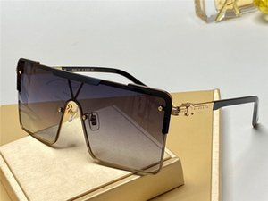 New luxury fashion designer sunglasses 9808 square connection frameless connection lens simple popular style top quality wholesale glasses