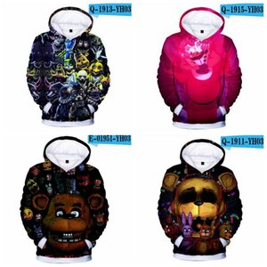 2020 New Autumn 3D print Five Nights at Freddys Sweatshirt For Boys School Hoodies For Boys FNAF Costume For Teens Sport Clothes