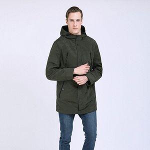 TALIFECK 2019 New camuflagem moda casual jaquetas dos homens encapuzados Primavera Outono roupas de marca Mens Windbreaker Coats Masculino G2C9 #