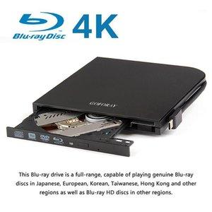 광학 드라이브 USB 3.0 Type-C Blu-ray 드라이브 외부 DVD 레코더 BD-RE CD / DVD RW Writer Rewriter Windows1 용 휴대용 홀수 HDD 버너