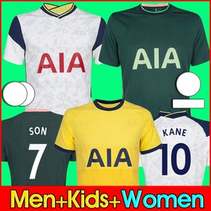 20 21 Tottenham BALYA KANE futbol forması Højbjerg BERGWIJN LO CELSO 2020 2021 LUCAS DELE SON futbol forması üniforma erkekler + çocuk kiti mahmuzlar
