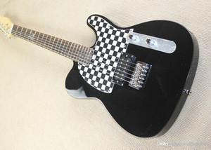 Captadores De Guitarra El éTrica Preta Com 1 H, Palisandergriffbrett Ferragens Cromadas, Oferecendo Servi Cos Personalizados