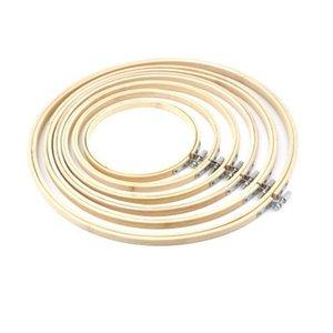 Bordados aros Tambour bastidor Anéis 30cm Anéis de madeira para Cross Stitch Quadro 30 centímetros 13 centímetros 17 centímetros 20 centímetros 23 centímetros 26 centímetros