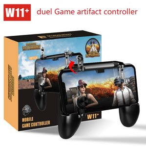 W11+ PUBG Mobile Gamepad Controller PUBG Wireless Joystick Game Shooter Controller for iPhone Android Samsung Phone