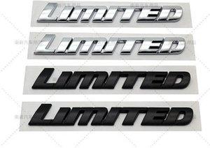 5x автомобиль 3D хром черный ABS значок наклейки роскошный лимитет редакция буквы эмблема логоль подходит для Toyota Highlander