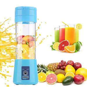 380ml Mini Electric Juicer Portable Portable Mixer Home USB Charging Smoothie Machine Fruit And Vegetable Juicer Tool