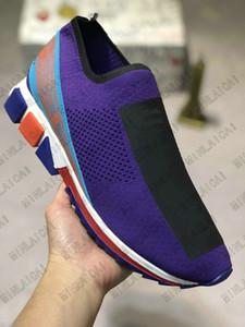 이탈리아 유니섹스 블루 화이트 레드 블랙 니트 소렌토 스니커즈 청록색 메쉬 스니커즈 Luxurys 디자이너 캐주얼 신발