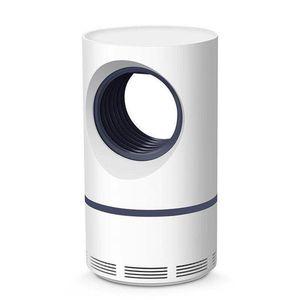 LED Photocatalyst USB Powered Non-Toxic UV Protection Mute Mosquito Killer Lamp