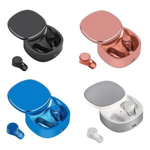 TWS-06 Wireless Bluetooth Headset Mini Wireless Earbud Contact Waterproof Sport Binaural Bluetooth Headset