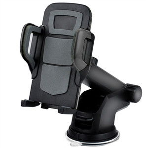 New Car Phone Holder Mount Stand Support Dashboard Windshield Cell Phone Holder Car With Flexible Arm Universal For Iphone Samsung Galaxy