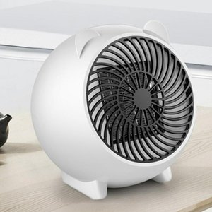 Cartoon ricaricabile piccola stufa Home Office foglie riscaldatore caldo super fan tranquilla e calda Fan Mica Cn (origine) 800W