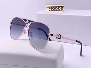 New fashion designer sunglasses 4388 pilot frame simple bestselling style top quality uv 400 protection outdoor eyewear popluar eyewear