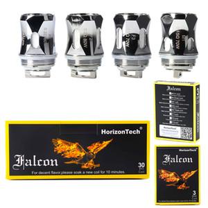Authentique Horizon Falcon Roi Bobine F1 F2 F3 M1 M2 M1 + Bobines de rechange Tête de remplacement pour Falcon Sub Ohm Tank Atomiseurs ECIG DHL GRATUIT