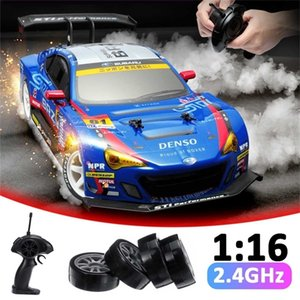 RC Car 4WD Drift Racing Car Championship 2.4G Off Road Radio Remote Control Vehicle Electronic Hobby Toys 201218