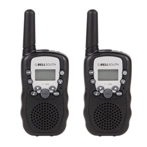 2pcs T-388 Walkie Talkie Toys For Children 0.5W 22CH LCD Display Two Way Kids Radio intercom For Kids Brithday Xmas Gift