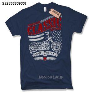 2020 T-shirt Moda - Biker - Motard Moto Moto Chopper vivo RÁPIDO Taille S M L XL XXL T-shirt 209610
