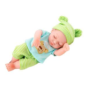 Reborn Boy Doll Baby Doll, 10 inç Bebek Lifelike Reborn Doll Boy Ağırlıklı