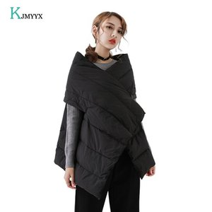 KJMYYX Ärmel Winter-weibliche Weste Warm Damen Weste Jacke Modische 2020 Frühling Herbst Weste Frauen Mantel-beiläufiges Schwarz Tops
