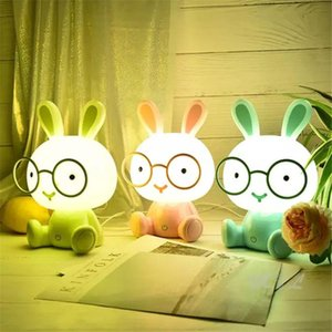 Cute Cartoon Animal Led Night Light for Baby Children's Room Night Lamp Christmas Gift Beside Lamp USB Night Lights
