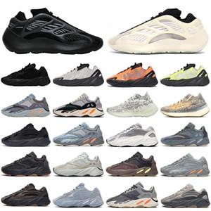 2020 горячая Канье Уэста 700 v3 380 mnvn волна бегун Мужчины Женщины спортивной обуви Alvah Азаэля чуждой тумана инерционного мужских тренеров спортивных кроссовок