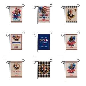 Drapeau Biden Garden Drapeau Biden Impression numérique Hanging nouvelle campagne de publicité Biden Flag 12 Styles 47 * 32cm Party Supplies ZCGY188 fête