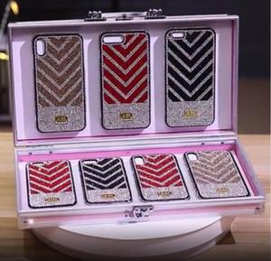 Новый роскошный алмазный блеск чехол для нового iPhone 12 11 Pro Max Case Case Bling Back Book Protection Designer Case для девочек