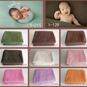 Ylsteed 150*160CM Newborn Shooting Background Soft Colorful Baby Photography Blanket New born Photoshoot Baby Picture Ideas