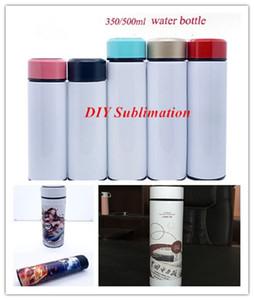 DIY Sublimation 350ml 500ml Tea Tumbler Travel Mug Stainless Steel Tea Infuser Bottle Portable Water Bottle with Strainer in stock