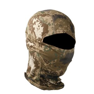 Outdoor Sports Gear Air soft Paintball Shooting Equipment Full Face Protection Tactical War game Cycling Army Camouflage Hood 02