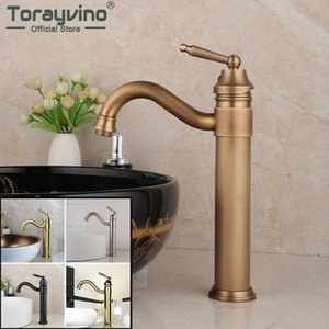 Torayvino Brass Bathroom Faucet Wash Basin Rotate Steam Spout Nickel 360 Swivel Deck Mounted Sink Faucet Cold And Hot Mixer Tap
