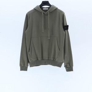 Topstoney 21ss Kazak Sportwear Moda Streetwear Crewneck Kazak Uzun Kollu T Gömlek Basit Katı Kazak Moda Kazak