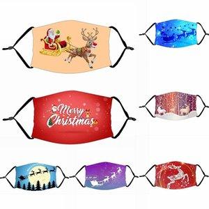Merry Gift Decorations For Home Xmas Navidad Decor Santa Claus Christmas Deer Bear Happy New Year 2021