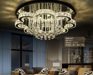 Modern LED Ceiling Lights K9 crystal luminaires illumination home fixtures living room Ceiling lamps bedroom Ceiling lighting