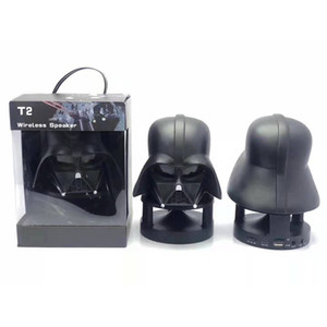 Portable Mini Bluetooth Speaker BT Black Warrior White Soldier Bluetooth Speaker with TF Card