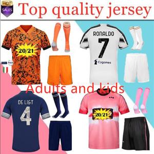 20 21 NEW Men Kit Fußball-Trikots 3 RD 4TH 2020/21 erwachsenen Kit Maillot de foot benutzerdefinierten Namen und die Nummer Fußballhemd und Kurz