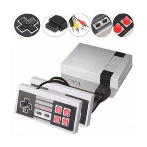 New Arrival Mini AV TV Video Game Console Controller 8 Bit Entertainment System Video Handheld Player for NES 620 games consoles Controllers