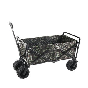 ATV away from camper truck - open car four wheel cart folding fishing basket a6527