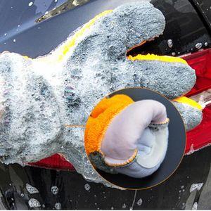 Auto Styling 12x30 cm Motiv Auto Reinigung Auto Pinselreiniger Weiche Waschhandschuhe Reinigungsbürste Motorrad Waschmaschine Pflege H SQCCOF