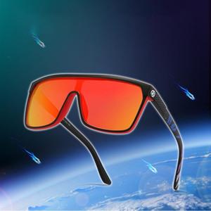 Kdeam Männer Luxus polarisierte Sonnenbrille einteiliger Form in Über Steckerabschirmelement Brillen Frauen Goggles Driving Klettern Sport