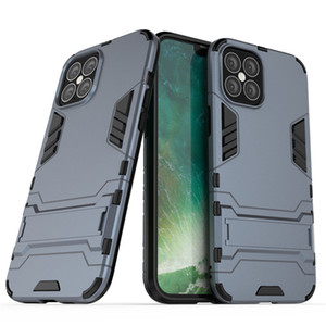 For iPhone 12 Mini 12 Pro Max Case Mobile phone Cover Slim Armor Case Hybrid Combo Cover Luxury 2 in 1 Anti Shock