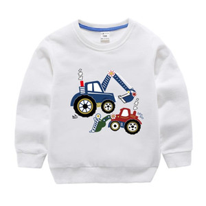Children's T-shirts Clothing Sweaters Boys Thick Knitted Turtleneck Sweaters Baby High Collar Pullover Cartoon Bear Sweater Kids Coats