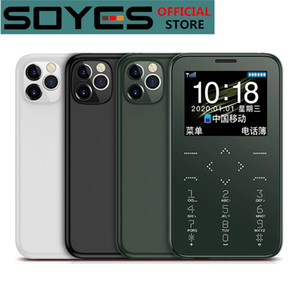 Original SOYES 7S Plus Mini Emergency Card Phone 1.5 Inches Anti-lost Backup Wallet Phone Ultrathin Student Version Credit Card Cellphone