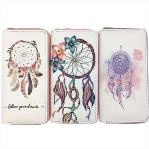 Kandra 2019 Portefeuilles Téléphone DreamCatcher Cooin Pocket Pochettes Porte-monnaie Portefeuille Portefeuille Ziplan Porte-embrayage Card Nouveau Womens Skwjx