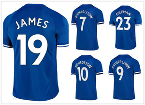 19 James 10 Sigurdsson 9 Calvert-Lewin 7 Richarlison 8 ديلف 12 Digne جودة التايلاندية تخصيص كرة القدم الفانيلة قمصان ميكس ترتيب مقبول