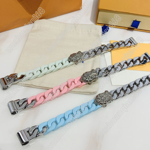 Three Style Fashion Bracelet Stitching Polished Chain Making Bracelet High Quality Titanium Steel Bracelet Jewelry Supply