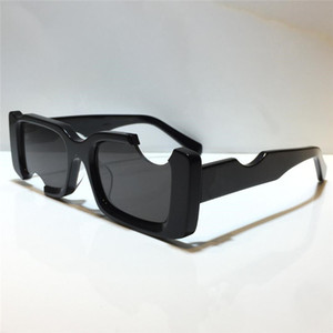 40006 أزياء جديدة الرجال النظارات الشمسية مربع كامل الإطار نظارات بسيطة المرأة شعبية نمط عدسات الليزر أعلى جودة uv400