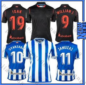 20/21 Real Sociedad Soccer Jersey 20/21 Royal Society Oyarzaba Soccer Shir Thome X.PRieto Carlos Juanmi Uniforme de fútbol Venta