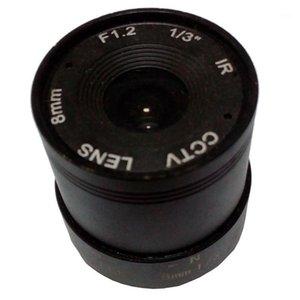 JIENUO CCTV Cammera Lens 8mm CS Lens for HD Security Cam F1.2 Image Format 1 3 Image Format Surveillance HD Cam 8mm Len1