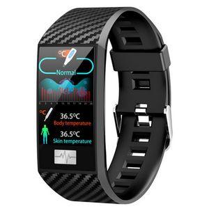 DT58 PRO 24Hour Monitor Monitor Monitor Умный браслет Женщин Band Fitness Tracker Водонепроницаемый Наружный Здоровье Мужчины Часы