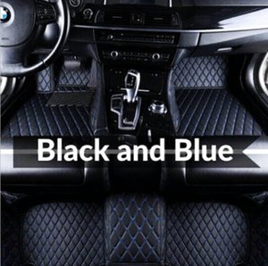 Suitable for Audi A3 A4 A5 A6 A7 A7 A8 Q3 Q5 Q7 RS5 RS7 S3 S4 S5 S6 S7 TT 2006-2020 Car Floor Mats Luxury customized perfect car matmat